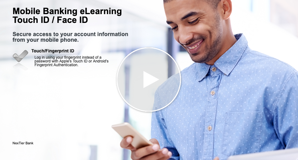 Mobile eLearning – Touch ID / Face ID
